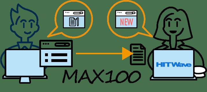 とくとく修正MAX100